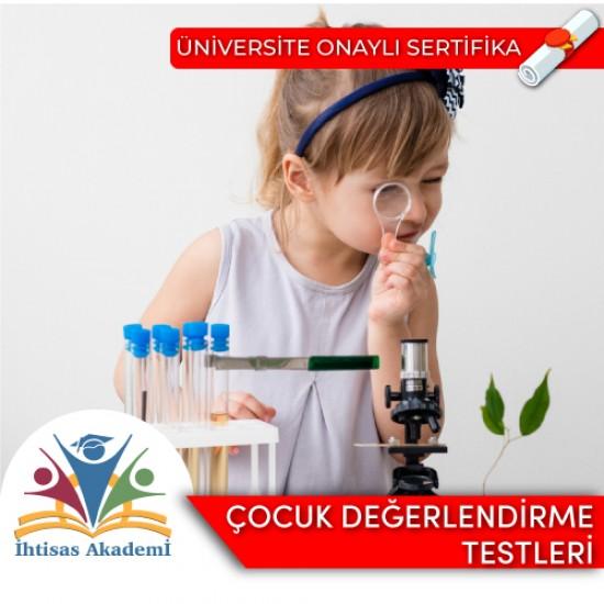 Çocuk Değerlendirme Testleri Uygulayıcı Sertifika Programı [Kocaeli Üniversitesi]