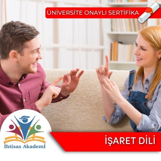 İşaret Dili Eğitimi Sertifika Programı