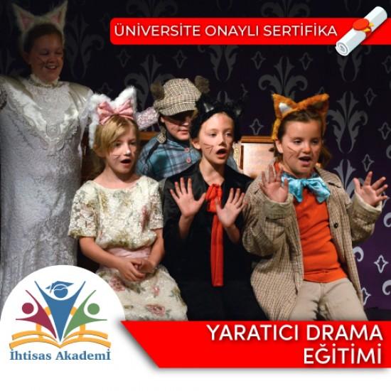 Yaratıcı Drama Eğitmenliği Sertifika Programı