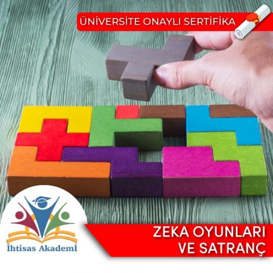Akıl-Zeka Oyunları ve Satranç Eğitmenlik Sertifika Programı