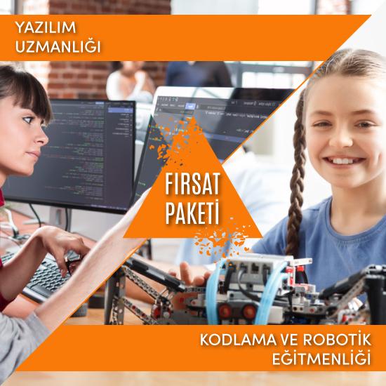 (Yazılım Uzmanlığı & Kodlama Robotik) Eğitmenliği Fırsat Paketi